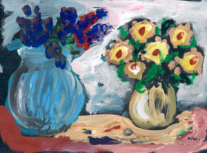 Blumen-am-Tisch