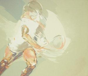 Tennis-Serigrafie Ulrich Zeh