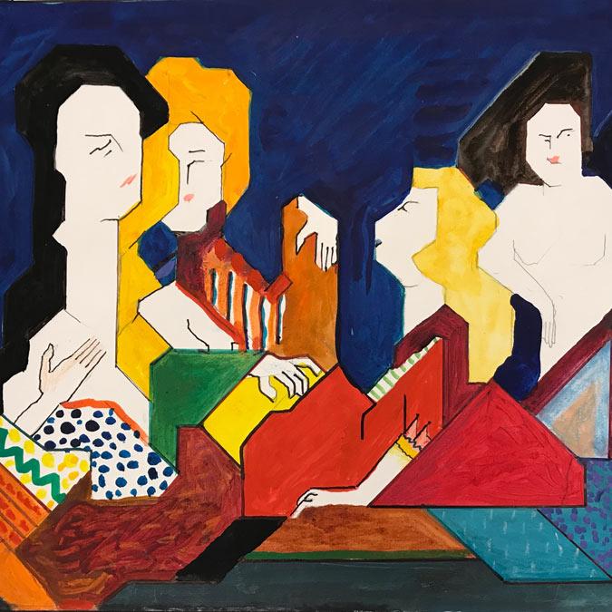 Frauenbilder von Willy Wiedmann
