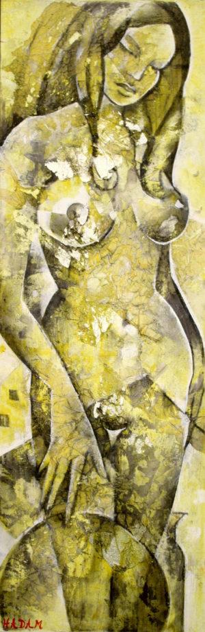 Ute-Hadam-Akt-Grace-jaune