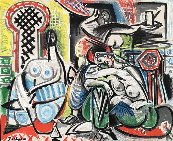 Picasso-2-Akte-bunt
