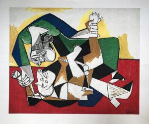 Picasso-Frau-kaempft-mit-Hund