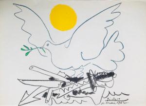 Picasso-Taube-mit-gelber-Sonne